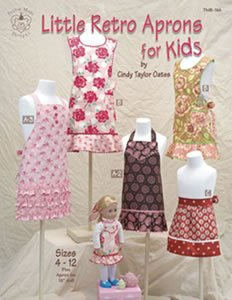Cindy Taylor Oates - Retro Aprons for Kids