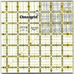 Omnigrid 6.5 x 6.5 Square Ruler