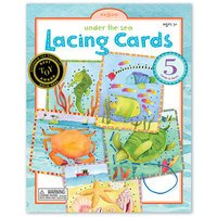 Lacing Cards - Under the Sea