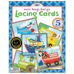 Lacing Cards - Things That Go