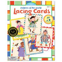 Lacing Cards - Children of the World