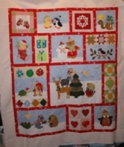 Christmas Critter Quilt Kit