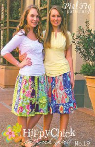 Hippy Skirt - Pink Fig
