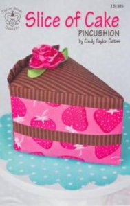 Slice of Cake Pincushion Pattern
