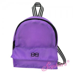 Doll Purple Backpack