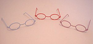 Doll Glasses - Pink
