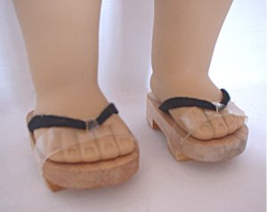 "Doll Japanese Sandals for 18"" dolls"