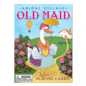 Old Maid Playing Cards - Animals