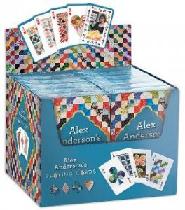 Alex Anderson Playing Cards