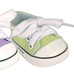 Doll Canvas Sneaker - Lime Green