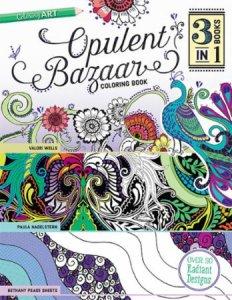 Opulent Bazaar Coloring Book