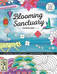 Blooming Sanctuary Coloring Book