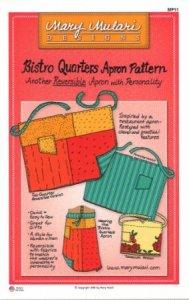 Bistro Quarters Apron Pattern